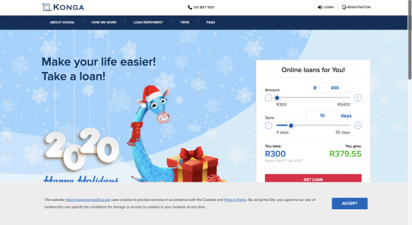 Konga - Loans up to R5.400