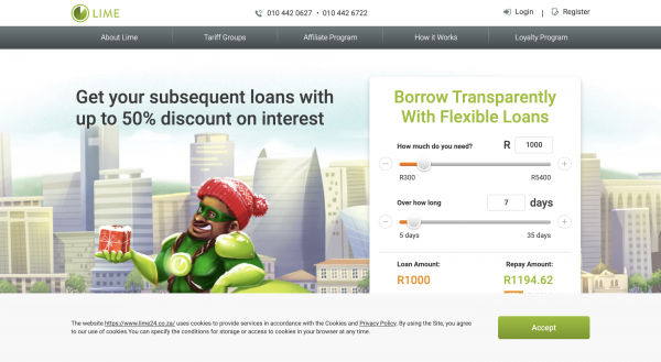 Lime Loans South Africa Proprietary Limited