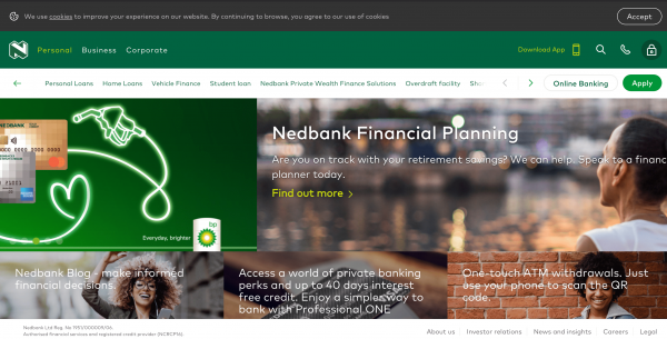 Nedbank - Loans up to R250.000