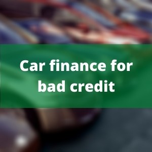 Car finance for bad credit people