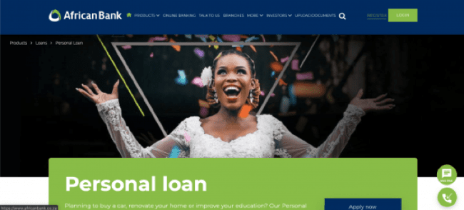 African Bank - Loans up to R250.000