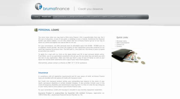 Bruma Finance (Pty) Ltd