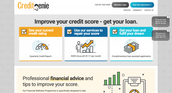 CreditGenie – Improve your credit score
