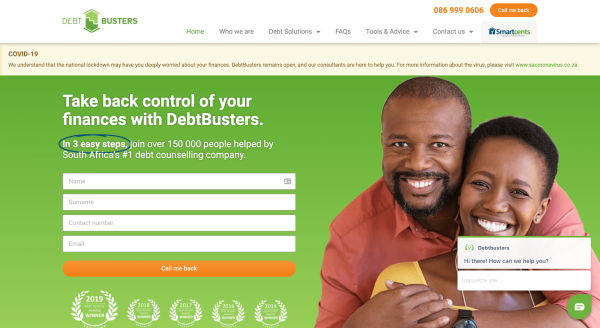 DebtBusters - Debt Consolidation
