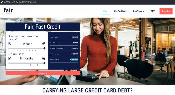Fair Money - Loans up to R8.000