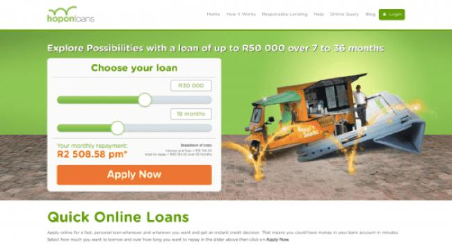 Hopon - Loans up to R50.000