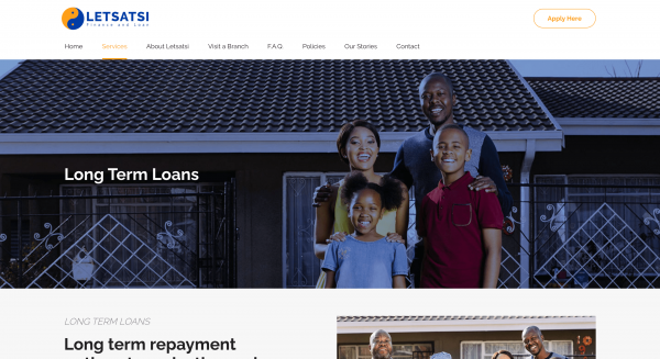 Letsatsi Finance and Loan (Pty) Ltd