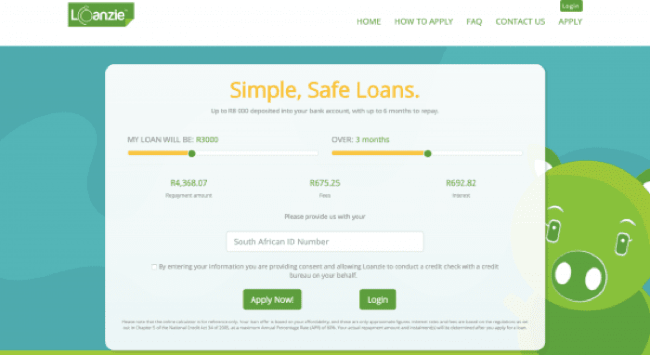 Loanzie - Loans up to R8.000