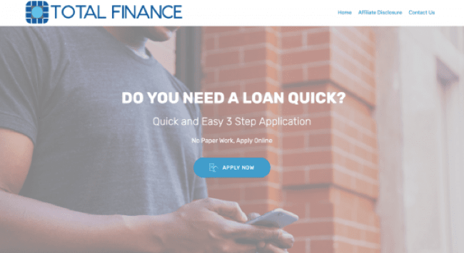 Total Finance - Loans up to R150.000