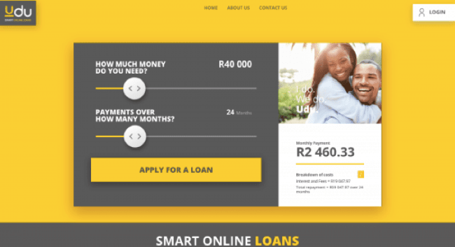 Udu - Loans up to R150.000